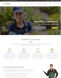 Template HTML5 Site Recomendado Para Jardinagem Ecomanic