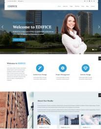 Template HTML5 Construtoras e Construção Civil Edifice