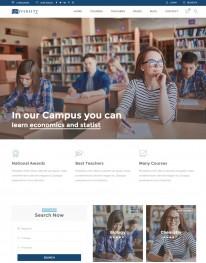 Template HTML5 Cursos, Faculdades, e Treinamento Education