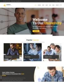 Template HTML5 Cursos, Faculdades, e Treinamento Edumax