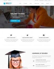 Template HTML5 Cursos, Faculdades, e Treinamento Edurex