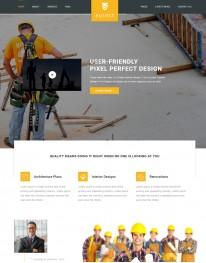 Template HTML5 Construtoras e Construção Civil Equfix