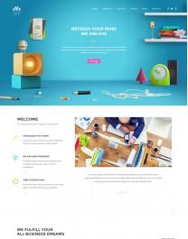 Template HTML5 Site Para Web Design, Multi Page Eve