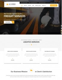 Template HTML5  Prestação de Serviços, Multi Page EXPRESS
