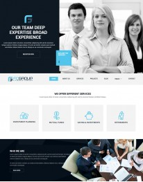 Template HTML5 Site Para Web Design, Multi Page, Fcgroup