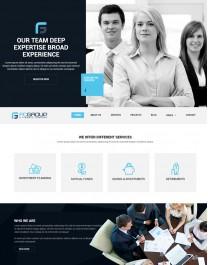 Template HTML5 Site Para Web Design, Multi Page, Fcgroup