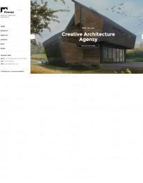 Template HTML5 Site Para Arquitetura e Engenharia Firenze