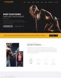 Template HTML5 Site Para Academias e Personal Fitnesspro