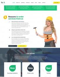 Template HTML5 Construtoras e Construção Civil Fixit