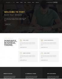 Template HTML5 Web Design, Desenvolvedores de Web Fort