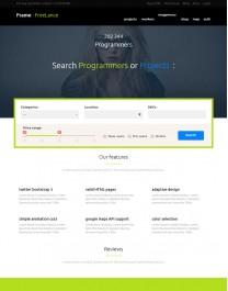 Template HTML5 Site Para E-Commerce, Loja Virtuais Frame