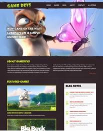 Template HTML5 Recomendado Para Games, Jogos e Pc Gamedevs