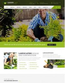 Template HTML5 Site Para Jardinagem, Jardineiro Garden Care