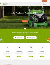 Template HTML5 Jardinagem, Multi Page Garden Master