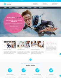 Template HTML5 Site Para Financeiras e Economia Gumble