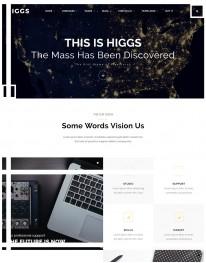 Template HTML5 web Design, Desenvolvedores de Web Higgs