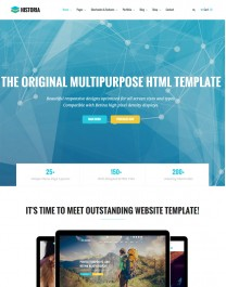Template HTML5 E-Commerce, Lojas Virtuais Historia