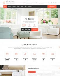 Template HTML5 Site Para Moveis e Decoração Homestate