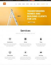 Template HTML5 Prestação de Serviços,reparos M2 House Repair