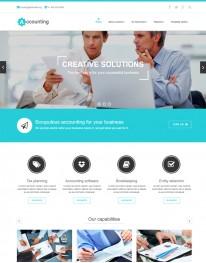 Template Joomla Empresas Institucionais Accounting 3.x