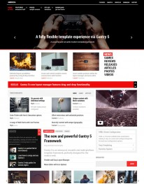 Template Joomla Sites de Noticias de Tecnologia Ambrosia 3.x
