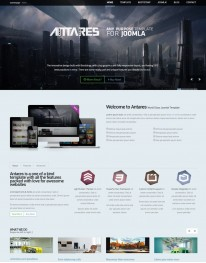 Template Joomla Sites Para Web Design  Antares 3.x