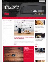 Template Joomla Sites de Noticiase e Jornal Audacity 3.x