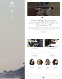 Template Joomla Web Design Desenvolvedores de web Aurora 3.x
