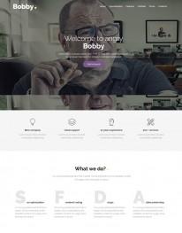 Template Joomla Sites Para Agência de Publicidade Bobby 3.x