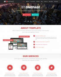 Template Joomla WEb Design, One Page Bt Onepage 3.x