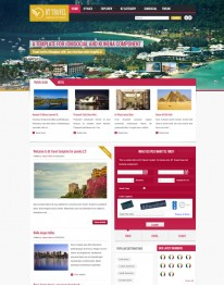 Template Joomla Sites Para Guia De Hotéis Bt Travel 3.x
