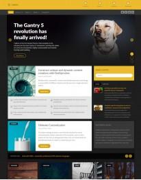 Template Joomla Para Empresas de Publicidade Callisto 3.x