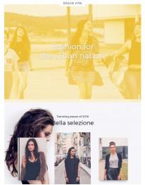Template Joomla Moda Fashion Dolce Vita 3.x