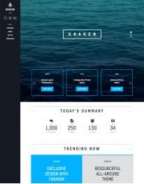 Template Joomla Empresa Institucional Kraken 3.x