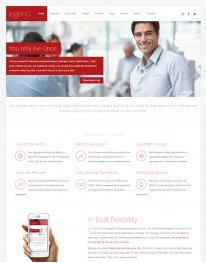 Template Joomla Empresas Institucionais Legend 3.x
