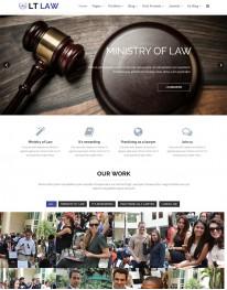 Template Joomla Jurídico Advocacia LT Law 3.x