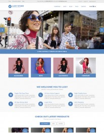 Template Joomla Virtue Mart Luxy Store 3.x