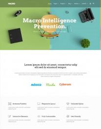 Template Joomla Empresas Institucionais Macro 3.x