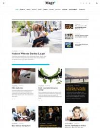 Template Joomla Noticias Blog Magz II 3.x