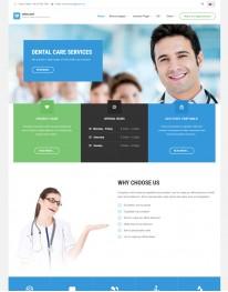 Template Joomla Médicos e Clinicas Medicare 3.x