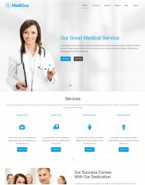 Template Joomla Médicos e Clinicas Medicus 3.x