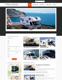 Template Joomla Virtue Mart Motor Homes 3.x
