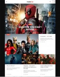 Template Joomla Filmes e Divulgação de Videos Movie Max 3.x