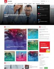 Template Joomla Noticias e Jornais NewEdge 3.x