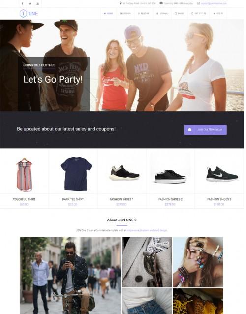 Template Joomla E-commerce, Virtue Mart One Pro 3.x