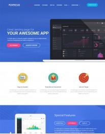 Template Joomla Empresas Tecnologia Porticus 3.x