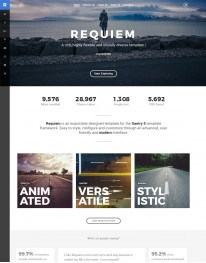Template Joomla Fotos e Fotógrafos Requiem 3.x