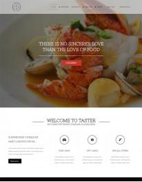 Template Joomla Restaurantes e Pizzarias Taster 3.x
