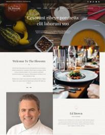 Template Joomla Recomendado Para Restaurante Blossom 3.x