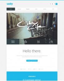 Template Joomla Fotos e Fotógrafos Unity 3.x